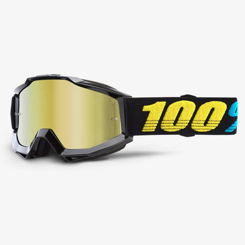 GOGGLE 100% ACCURI VIRGO MIRROR GOLD LENS