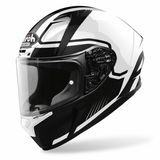 CASCO AIROH VALOR MARSHALL BLANCO BRILLANTE