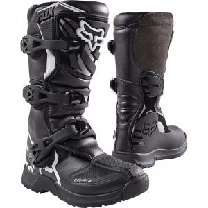 BOTA FOX COMP 3 YOUTH NEGRO