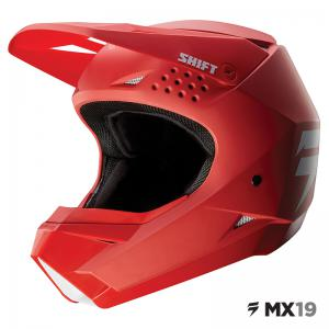 CASCO SHIFT WHIT3 ROJO