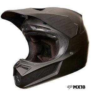 CASCO FOX V3 CARBON NEGRO MATTE