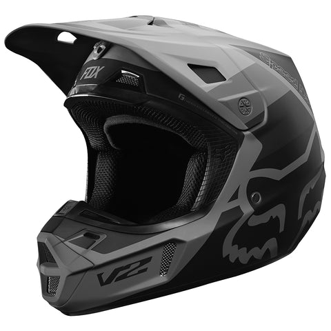 CASCO FOX V2 MURC NEGRO 2019