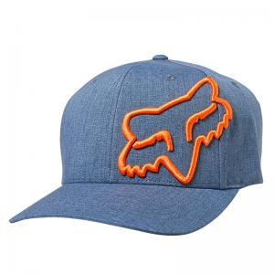 GORRA FOX CLOUDED FLEXFIT AZUL ACERO