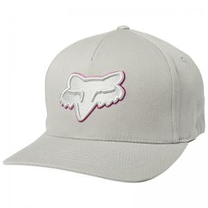 GORRA FOX EPICYCLE FLEXFIT GRIS/ROSA