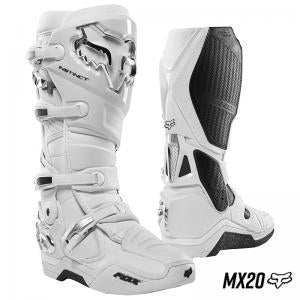 BOTA FOX INSTINCT BLANCO/PLATA