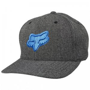 GORRA FOX TRANSPOSITION FLEXFIT NEGRO/AZUL