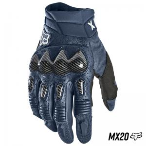 GUANTE FOX BOMBER MX20 NAVY