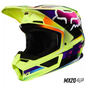 CASCO FOX V1 GAMA AMARILLO