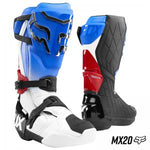 BOTA FOX COMP R MX20 AZUL/ROJO
