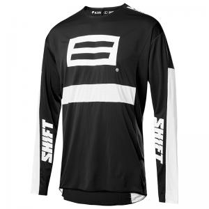 JERSEY SHIFT 3LACK LABELG.I. FRO NEGRO/BLANCO