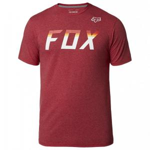 PLAYERA TECH FOX ON DECK SS ROJO CARDENAL