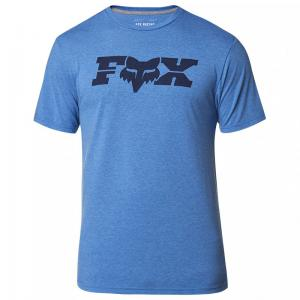 PLAYERA TECH FOX GENERAL SS AZUL REY HEATHER