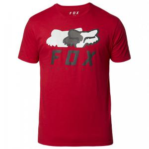 PLAYERA PREMIUM FOX CHROMATIC SS ROJO CARDENAL