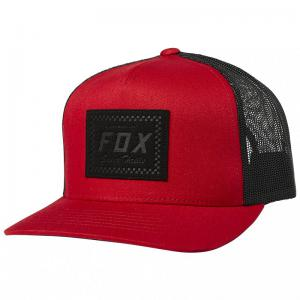 GORRA FOX BUILT TO THRILL ROJO