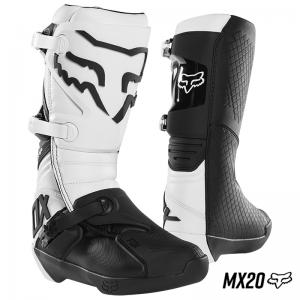 BOTA FOX COMP MX20 BLANCO
