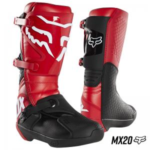 BOTA FOX COMP MX20 ROJO FLAMA