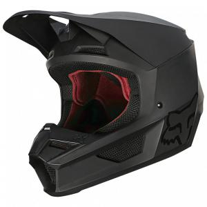 CASCO FOX V1 MATTE NEGRO