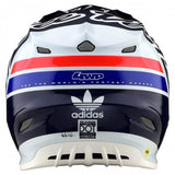 CASCO TROY LEE DESIGNS SE4 CARBON SILHOUETTE AZUL/BLANCO