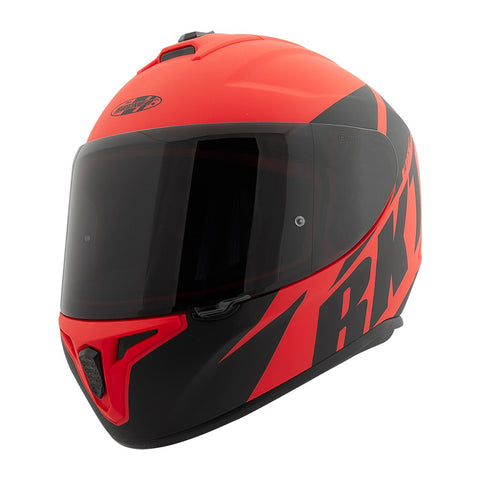 CASCO JOE ROCKET RKT 8 ATOMIC ROJO/NEGRO MATTE