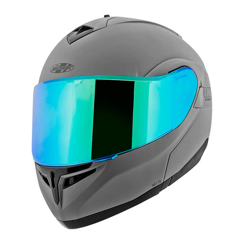 CASCO JOE ROCKET ABATIBLE RKT20 ION GRIS