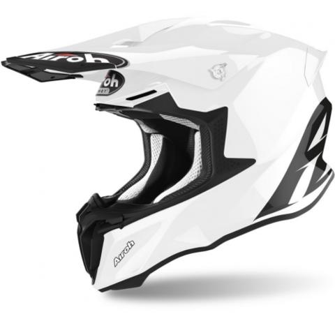 CASCO AIROH TWIST 2.0 COLOR BLANCO BRILLANTE 2020