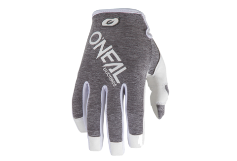 GUANTES ONEAL MATHEM HEXX GRIS/BLANCO
