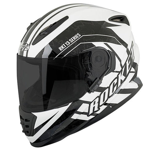 CASCO JOE ROCKET RKT 13 SERIES NORTHERN LIGHTS BLANCO/NEGRO