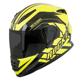CASCO JOE ROCKET RKT 13 SERIES NORTHERN LIGHTS AMARILLO/NEGRO