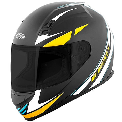 CASCO JOE ROCKET RKT 7 SERIES REACTOR BLANCO/NARANJA/AZUL