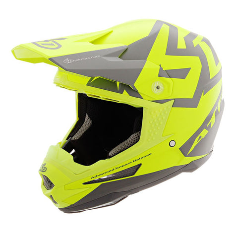 CASCO 6D ATR-1 SWITCH AMARILLO NEON
