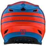 CASCO TROY LEE DESIGNS GP SILHOUETTE NARANJA/AZUL