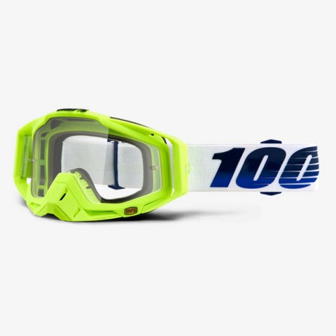GOGGLE 100% RACECRAFT GOGGLE GP21 CLEAR LENS