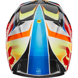 CASCO FOX  V3 MOTIF 2019 ROJO/AMARILLO