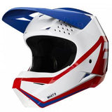 CASCO SHIFT GRAPHIC JOVEN BLANCO/ROJO
