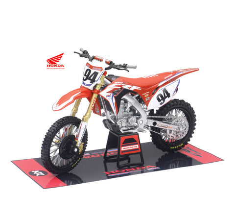MOTO  HRC FACTORY TEAM CRF450R 2017 (KEN ROCZEN) #94 ESCALA 1:12