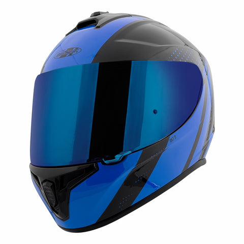 CASCO JOE ROCKET RKT 8 VELOCITY AZUL/NEGRO
