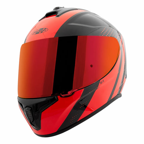 CASCO JOE ROCKET RKT 8 VELOCITY ROJO/NEGRO