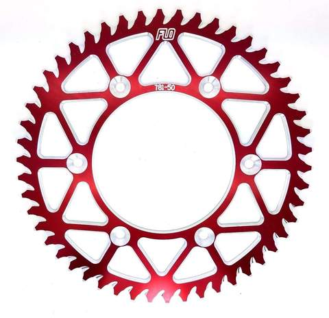 SPROCKET FLO HONDA ROJO CR125/250/500 CRF250/450