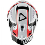 CASCO LEATT GPX 4.5 V20 BLANCO/NEGRO