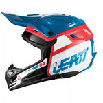 CASCO LEATT GPX 4.5 V25 AZUL/BLANCO
