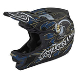 CASCO TROY LEE DESIGNS D4 CARBON EYEBALL AZUL