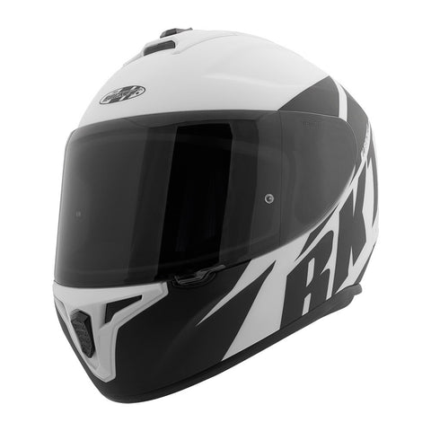 CASCO JOE ROCKET RKT 8 ATOMIC NEGRO/BLANCO MATTE