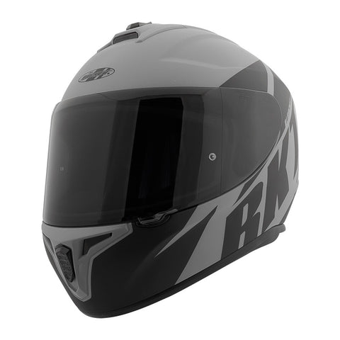 CASCO JOE ROCKET RKT 8 ATOMIC GRIS/NEGRO MATTE