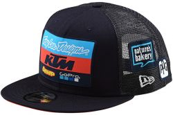 GORRA KTM/TROY LEE DESIGNS/GO PRO