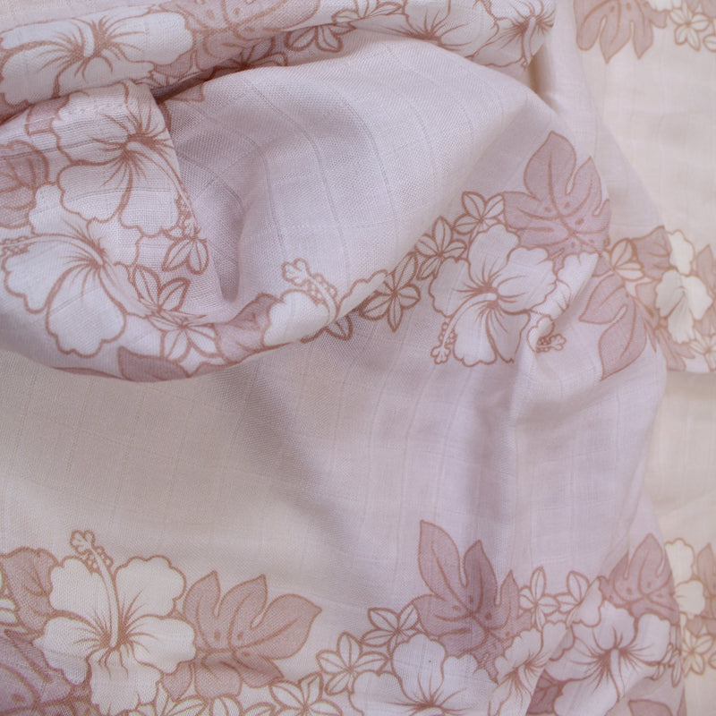 Blue Aloha/Gray Shaka Reversible Blanket