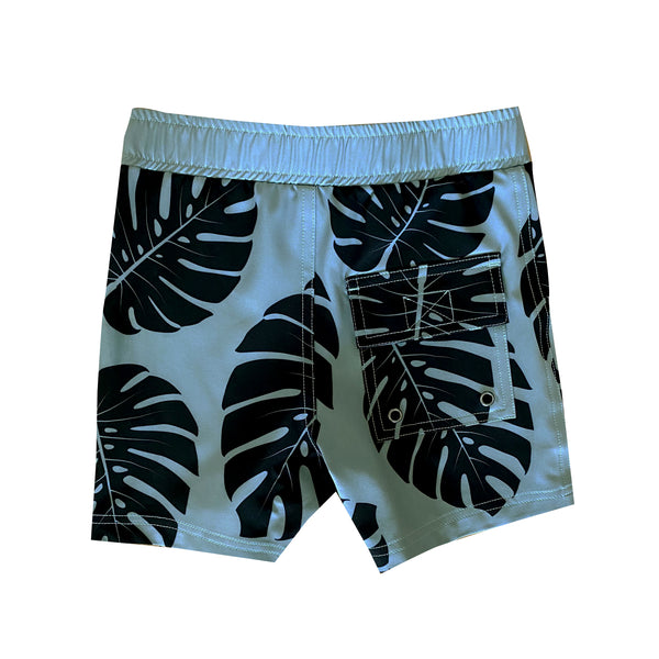 Eco-Friendly Green Monstera Boardies (0 to 8T)