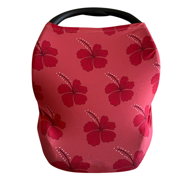 Berry Hibiscus Multi-Purpose Cover