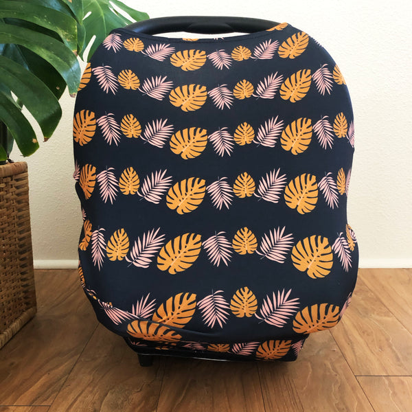 Swaddle With Aloha Kalei Midnight Multi-Purpose Cover - Sweet Sweet Honey