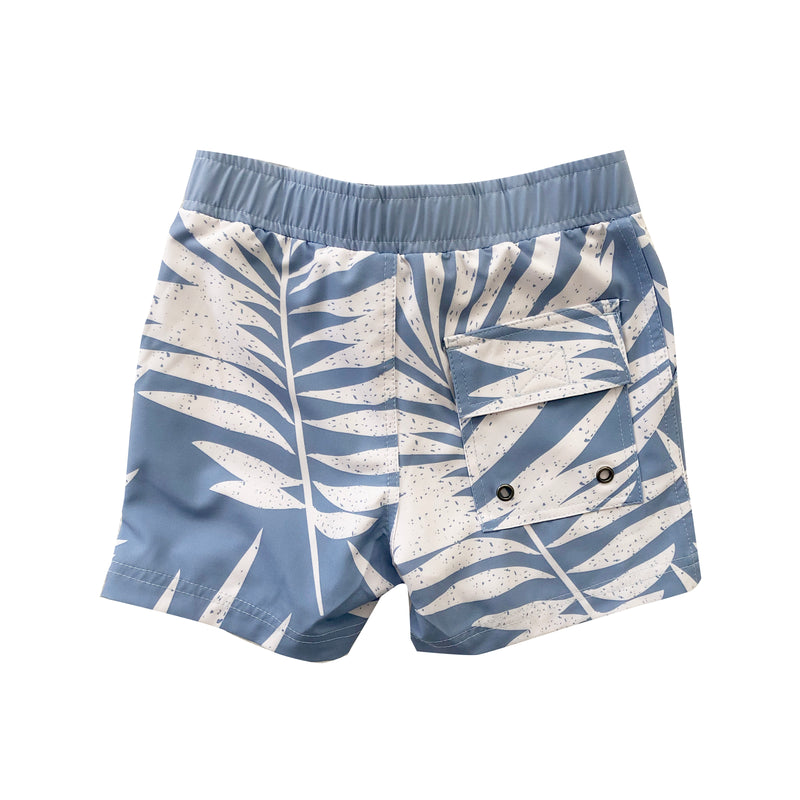 Eco-Friendly Blue Palm Boardies (6/12M TO 12 BOYS)