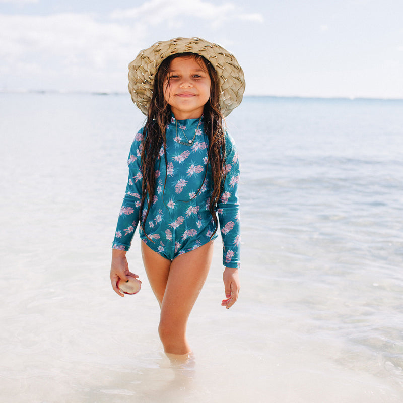 Malia Long Sleeve Swimsuit (6/12M to 12 Girls)